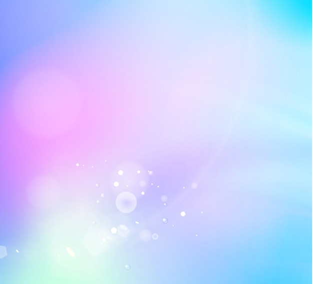 Fundo abstrato fantasia de bokeh branco sobre violeta