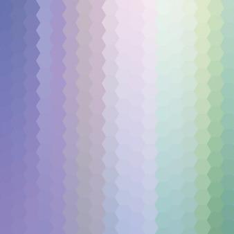 Fundo abstrato feito de formas poligonais
