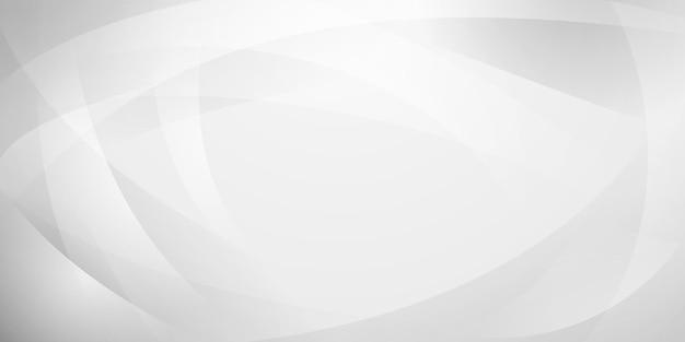 Fundo abstrato feito de linhas curvas em cores brancas