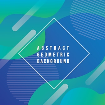 Fundo abstrato forma geométrica, moderno abstrato com forma líquida e cor gradiente colorido
