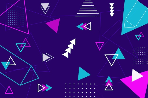 Fundo abstrato formas geométricas