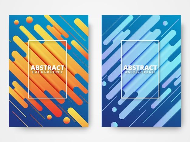 Fundo abstrato formas texturizadas