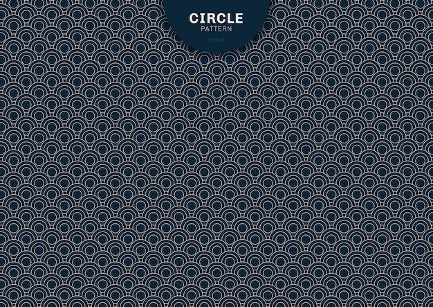 Fundo abstrato geométrico círculo azul