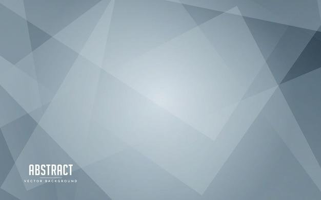 Fundo abstrato geométrico cor branca e cinza