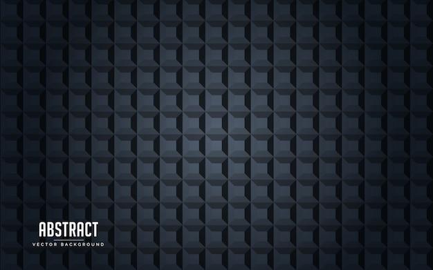 Fundo abstrato geométrico cor preto e cinza