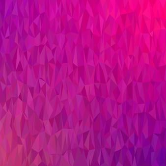 Fundo abstrato geométrico do teste padrão do triângulo caótico - gráfico de vetor do polígono