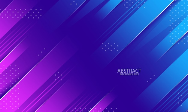 Fundo abstrato geométrico mínimo com cores fluidas gradientes