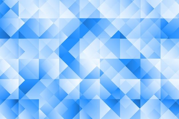 Fundo abstrato geométrico moderno de cor azul
