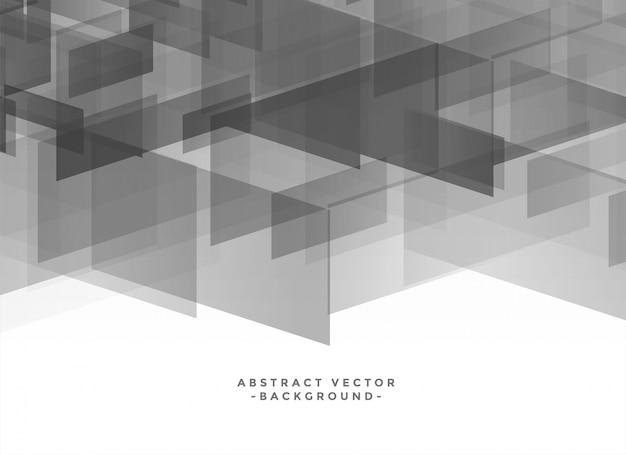 Fundo abstrato geométrico na sombra cinza