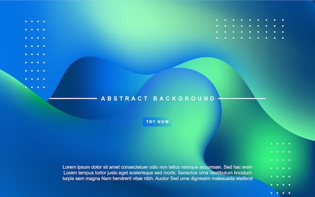 Fundo abstrato gradiente azul