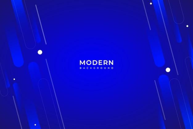 Fundo abstrato gradiente de cor azul