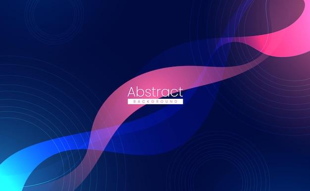 Fundo abstrato gradiente moderno