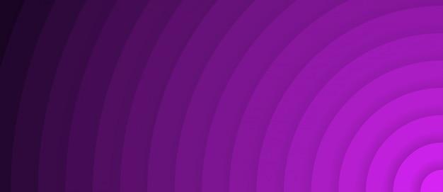 Fundo abstrato gradiente roxo círculo radial