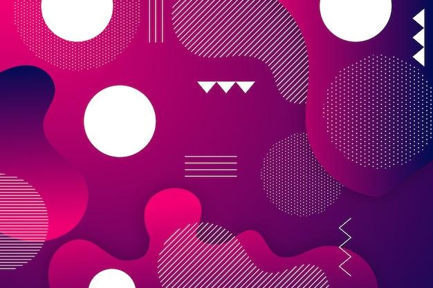 Fundo abstrato gradiente roxo