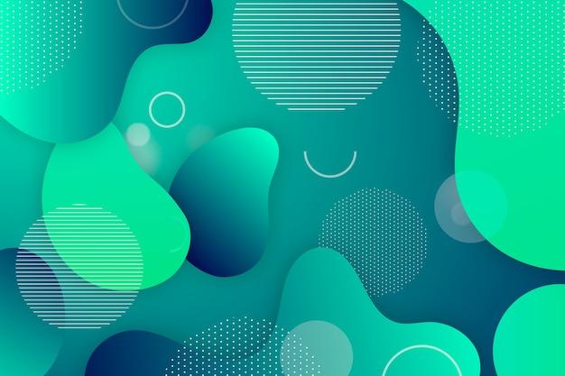 Fundo abstrato gradiente verde