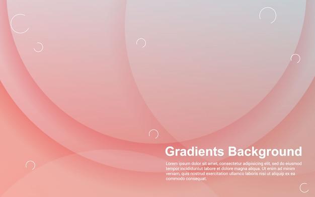 Fundo abstrato gradientes cor design moderno