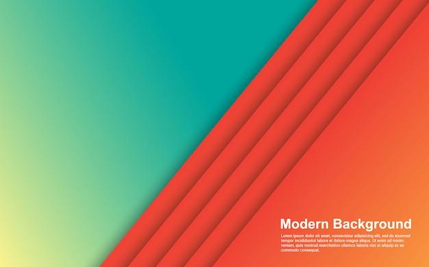 Fundo abstrato gradientes cor moderna