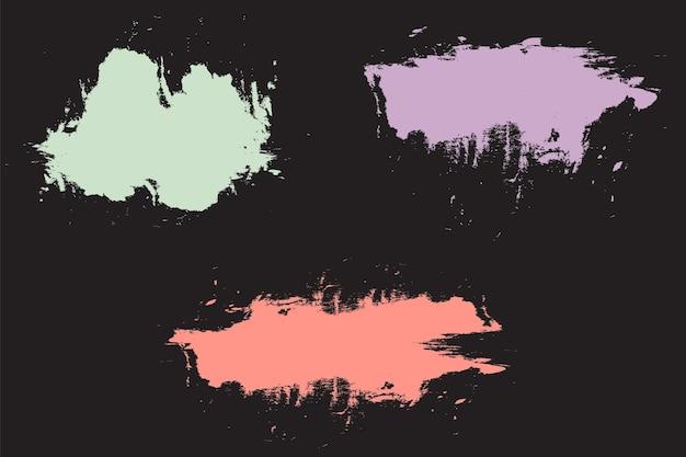 Fundo abstrato grunge em tons pastel