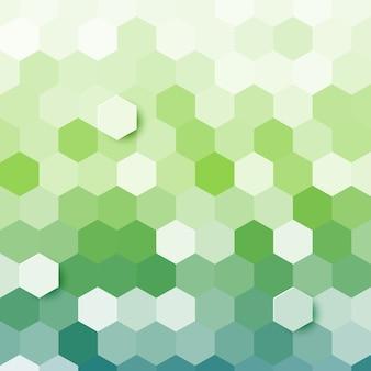 Fundo abstrato hexagonal