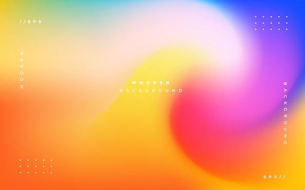Fundo abstrato holográfico colorido