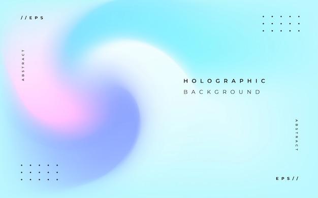 Fundo abstrato holográfico elegante