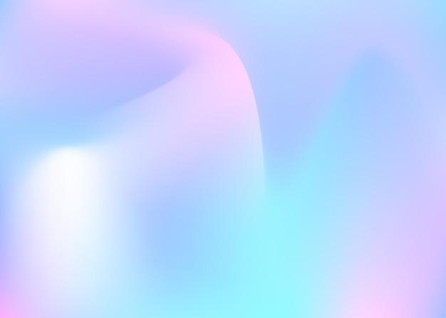 Fundo abstrato holográfico.