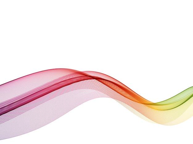 Fundo abstrato, ilustração futurista ondulada fluxo de ondas