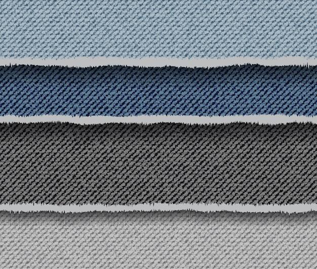 Fundo abstrato jeans listrado