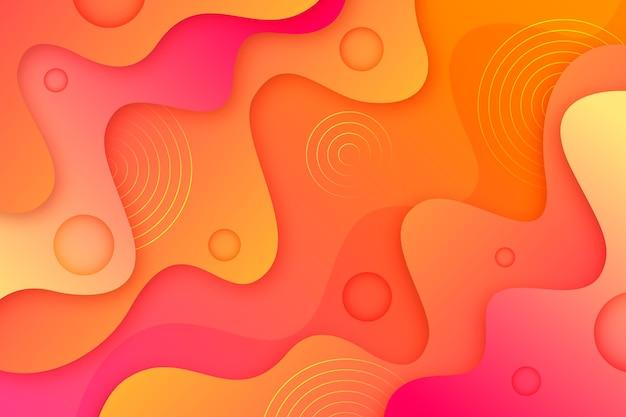 Fundo abstrato laranja gradiente