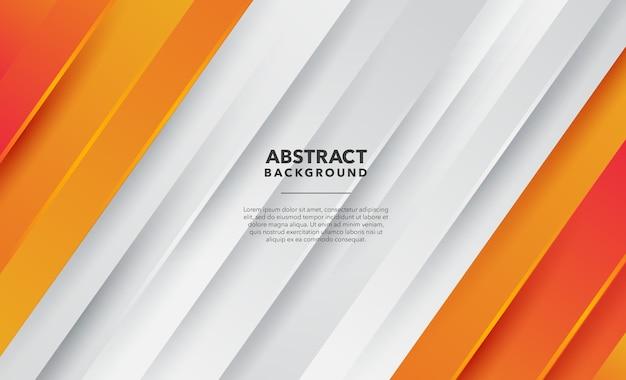 Fundo abstrato laranja moderno