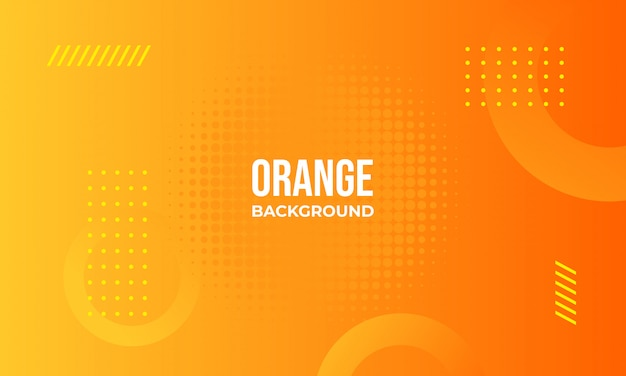 Fundo abstrato laranja