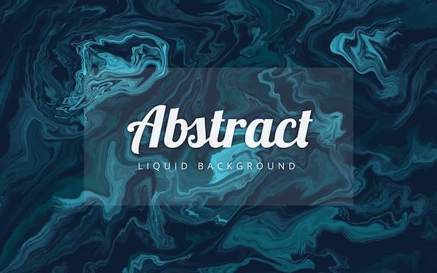 Fundo abstrato líquido de mármore azul