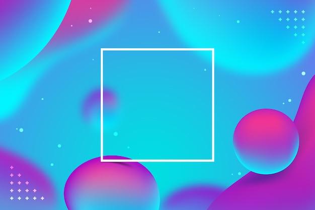 Fundo abstrato líquido gradiente