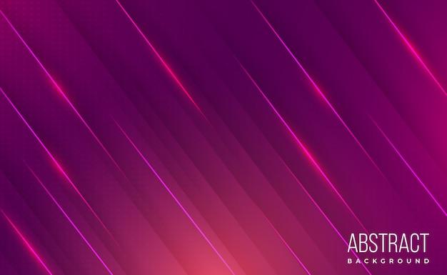 Fundo abstrato liso moderno gradiente rosa brilhante Vetor Premium