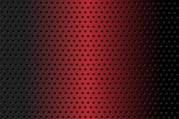 Fundo abstrato luxuoso vermelho e preto