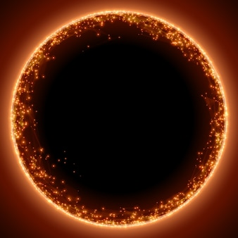 Fundo abstrato malha vermelha. buraco negro ou singularidade. estilo de tecnologia futurista.