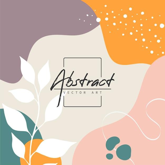 Fundo abstrato. modelo de design moderno em estilo minimalista. capa elegante para apresentação de beleza, design de marca. ilustração vetorial