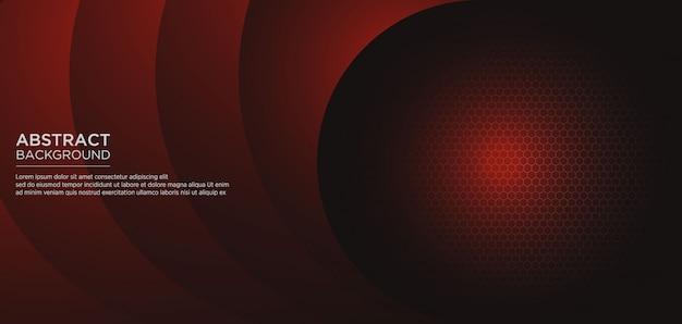 Fundo abstrato modelo vermelho escuro