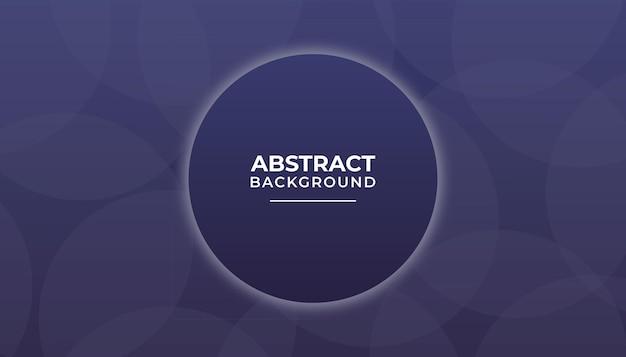 Fundo abstrato moderno com círculo premium vector