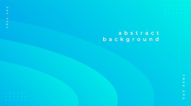 Fundo abstrato moderno com elementos gradientes azuis