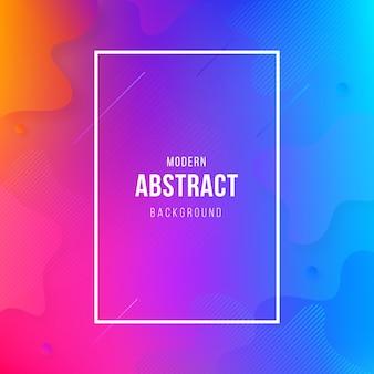 Fundo abstrato moderno com formas geométricas