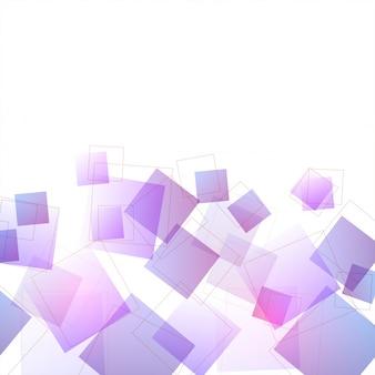 Fundo abstrato moderno com formas ou elementos geométricos roxos.