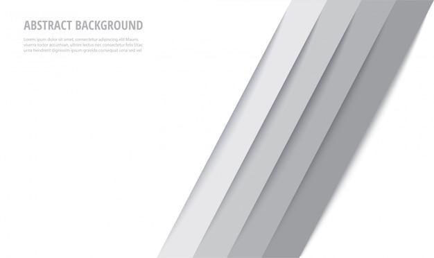 Fundo abstrato moderno linhas brancas