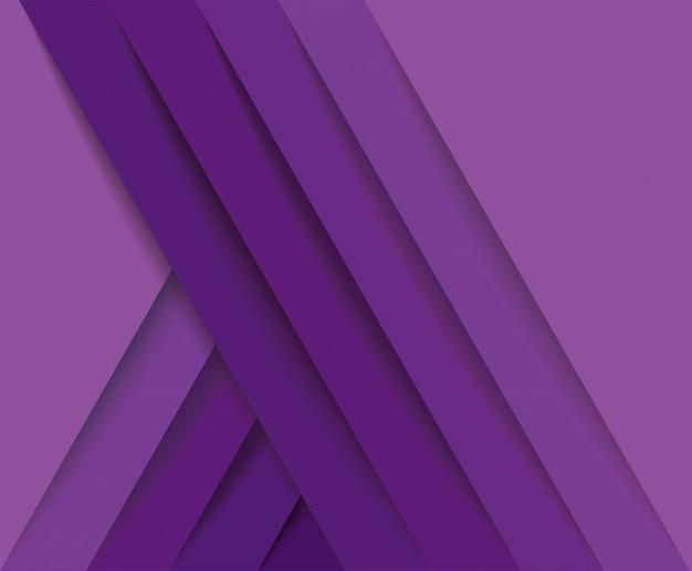 Fundo abstrato moderno linhas roxas