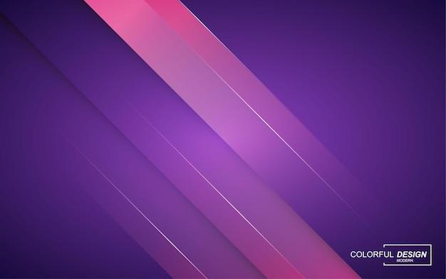 Fundo abstrato moderno multicolorido