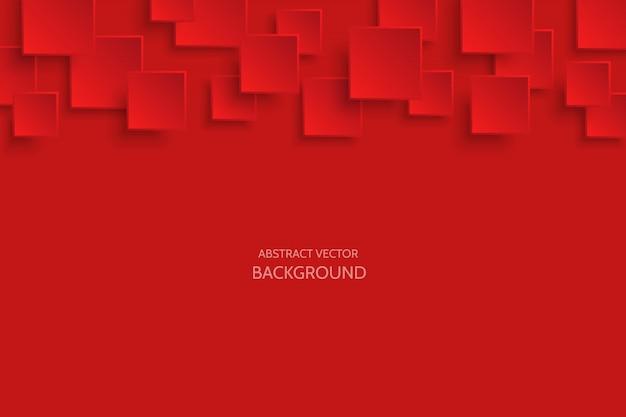 Fundo abstrato moderno vermelho escuro