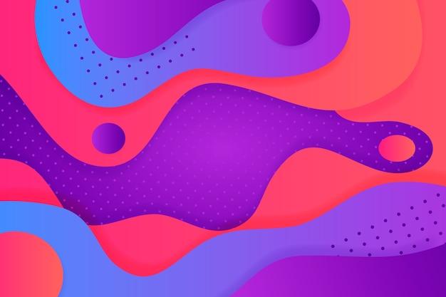 Fundo abstrato multicolorido