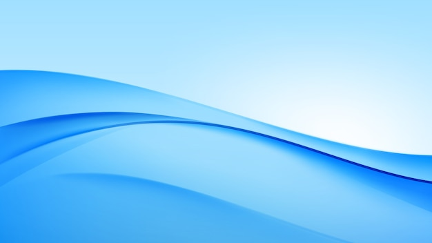 Fundo abstrato onda azul