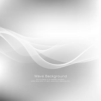 Fundo abstrato onda elegante cinza
