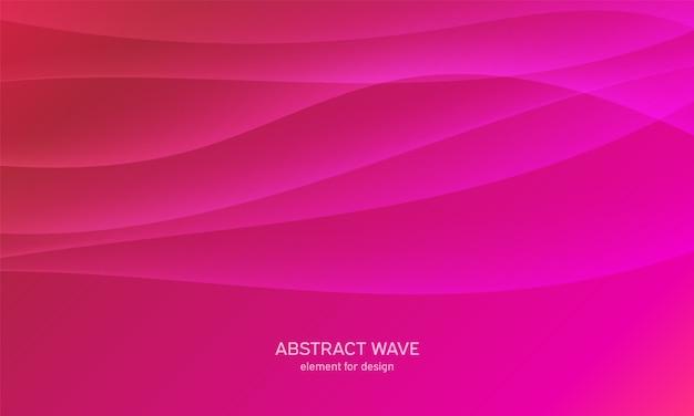 Fundo abstrato onda. fundo colorido com linha ondulada.